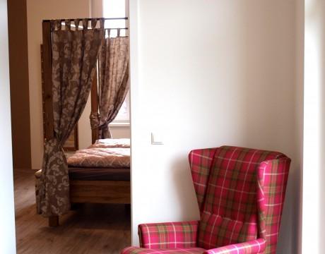 Meyers Eiche - Blick ins Schlafzimmer